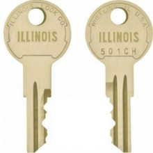 Illinois 501CH Replacement Switch Key
