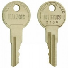 Illinois T100 Replacement Switch Key