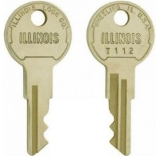 Illinois T112 Replacement Switch Key