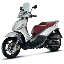 Piaggio Motorcycle Keys