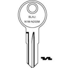 Blau Petrol Cap Keys N1M to N200M