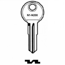 Blau Top Box Key N1 to N200