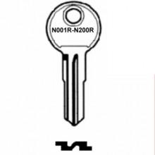 Blau Top Box Key N001R to N200R