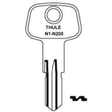 Thule Ski Rack Keys N1 to N200