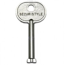 Securistyle double bit window key