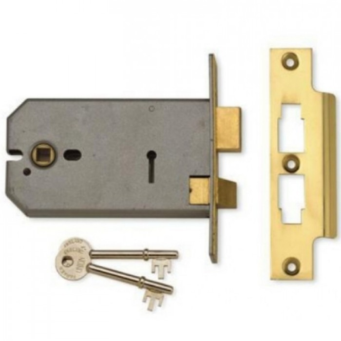Union 2077 3 Lever Horizontal Mortice Lock