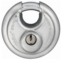Abus 26 Series Solid Lock Body Diskus Padlock