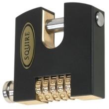 Squire SHCB75 Combination Padlock 5 Wheel