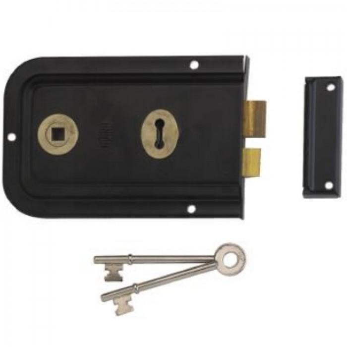 Union 1445 Lever Rim Lock