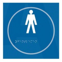 Braille Gents Sign