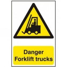 Danger Forklift Trucks Sign