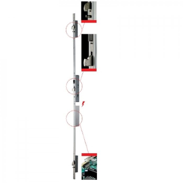 iseo electronic multipoint lock
