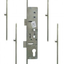 Mila Master Lever Operated Latch & Deadbolt Twin Spindle 4 Roller